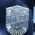 Dredd 3D badge SWAG from Lionsgate