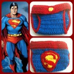 superman diaper cover