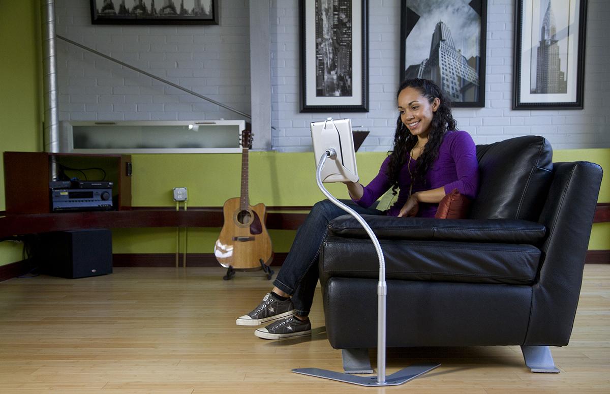 Standzfree Ipad Floor Stand Couch 7 Forbidden Panel